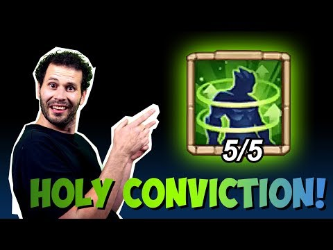 JT's Main Talking Holy Conviction Rolling For New Enchantment Talent Castle Clash