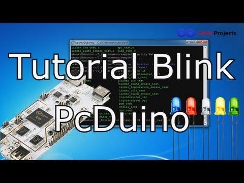 Tutorial Blink PcDuino