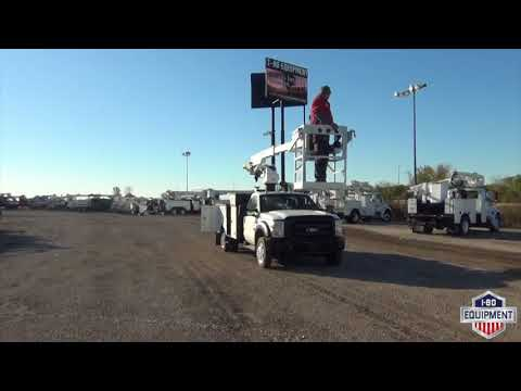 2011 Ford F-550 4x2 Altec AT235P Cable Placer - ST#B58748