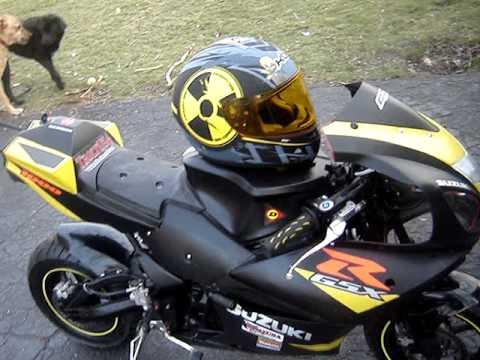 Custom X19 Gsxr 1000 160cc Super Pocket Bike Youtube