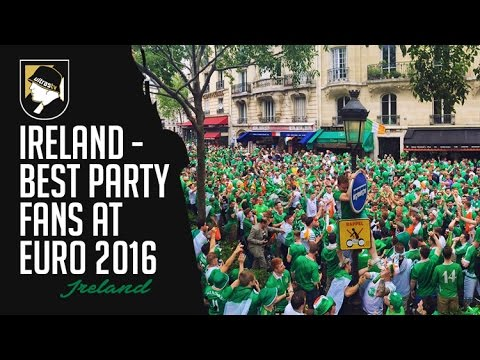 Ireland - Best Party Fans at Euro 2016