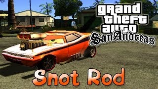 GTA San Andreas - Тачки: Сморкач | Cars: Snot Rod Mod