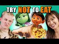Try Not To Eat Challenge -  Pixar Foods | People vs. Food