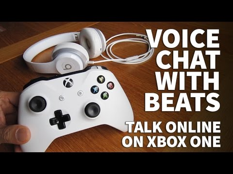How To Use Beats Headphones On Xbox One With Microphone Game Chat – Online Voice Headset Beats Solo