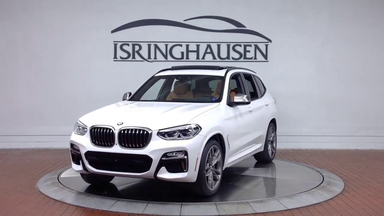 2018 BMW X3 M40i In Alpine White