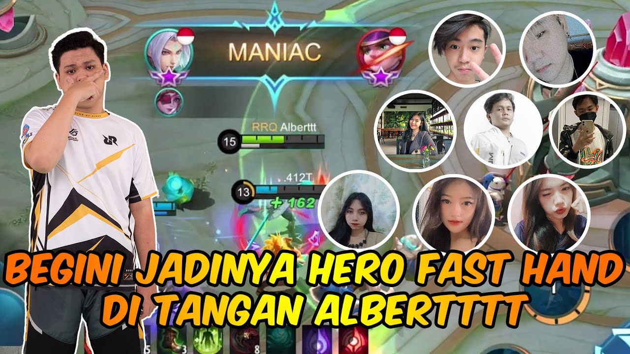 Download BEGINI JADINYA HERO FAST HAND DI TANGAN ALBERT!!!
