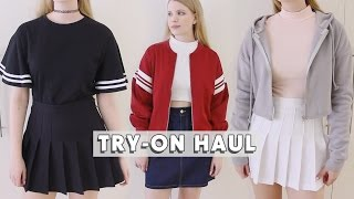 Try-On Clothing Haul