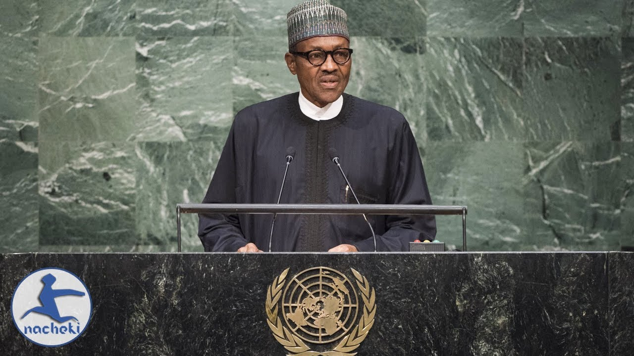 Buhari's UN Speech on Corruption & Migrants Might Win Him Another Term
