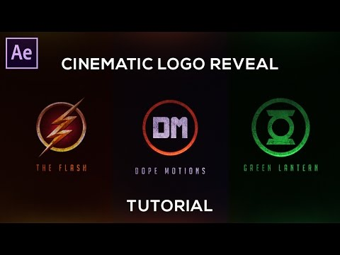 Cinematic Logo Reveal in After Effects - After Effects Tutorial