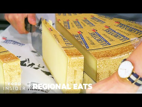 Why Gruyère Is The Most Popular Swiss Cheese | Regional Eats