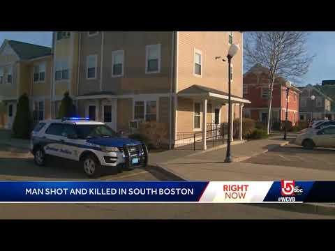 Man Shot, Killed In South Boston