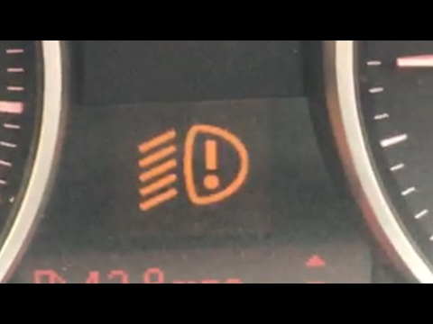 BMW 3 Series Head Lamp Warning Light On E90 E91, How To Change The Bulb