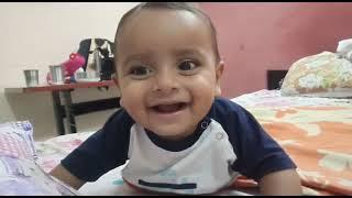 Baby Laughing Video || My Cute Baby Moksh Kumar || Chhotu Dada Laughing