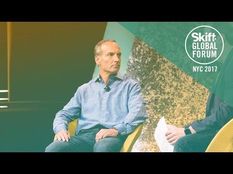 Priceline Group CEO Glenn Fogel at Skift Global Forum 2017