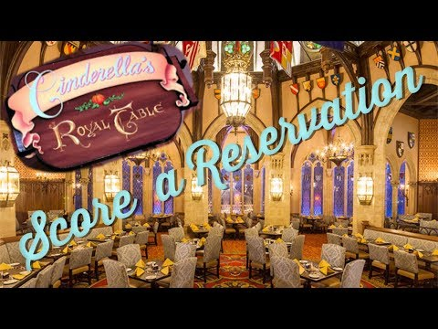 How to Get a Reservation at Cinderella's Royal Table