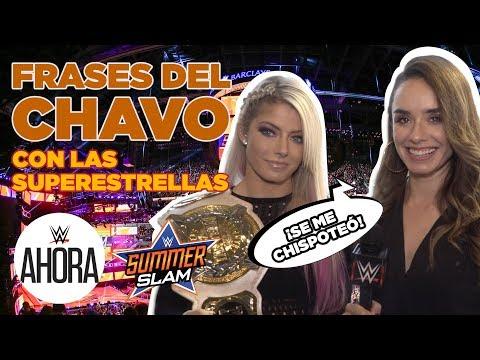 Super Martinez - Estrellas de WWE Diciendo Frases Famosas del Chavo del 8