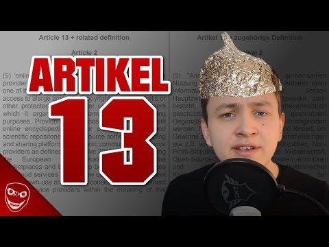 Artikel 13 und die dummen Verschwörungstheorien! Wir sind Roboter?!