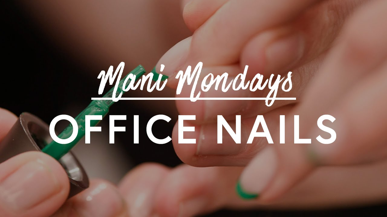 Unexpected Office Ropriate Nails The Zoe Report By Rachel