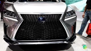 2018 Lexus RX 450h Exterior Walk-around LA Auto Show