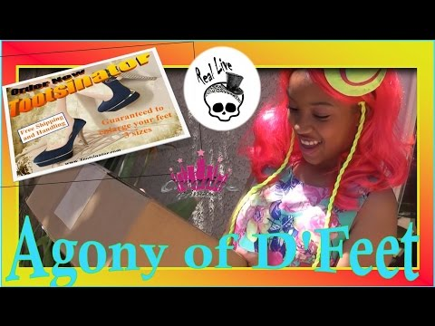 New Real Live Monster High | 'Agony of D'Feet' - CreativePrincess