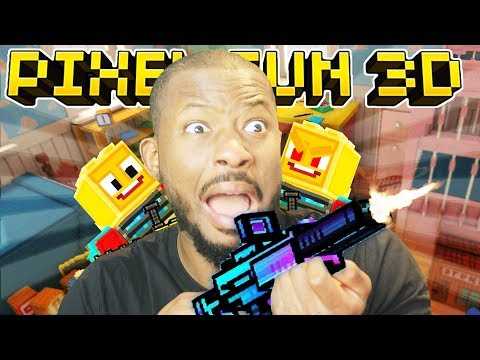 TOYS TAKE OVER THE WORLD! | Pixel Gun 3D