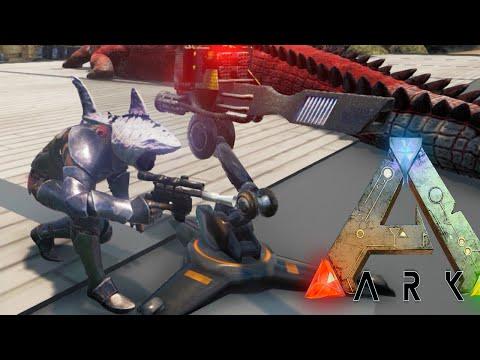 Ark Survival Evolved - PHOTON CANNON WORLD TAKE OVER - Modded Survival Ep35 (Ark Gameplay)