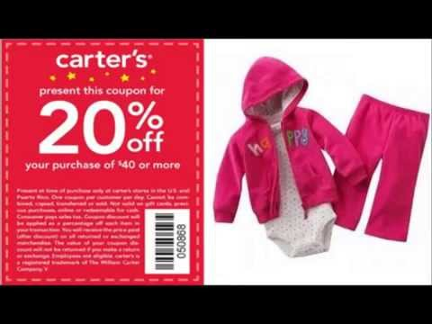 Carters Coupon Code -- Get Discounts On Children's Clothing With Carters Coupon Code.