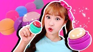 촉촉한 입술♥ 콩순이와 립밤 메이커 만들기 장난감 놀이 Lipbalm - 지니