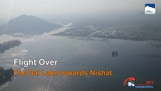Kashmir Paragliding XC Flight over The Dal Lake & Zabarwan Range HD