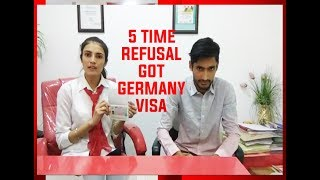 Study in Germany - Visa Success(5 Times Refused Case)