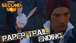 inFAMOUS Second Son - Paper Trail Ending [HD] 1080p + Custom Jacket