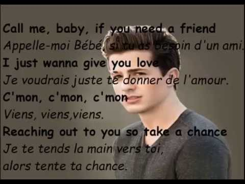 Charlie Puth  One Call Away Traduction Française