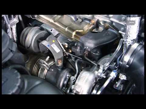 W204 Inspect, remove install and adjust aneroid capsule on turbocharger