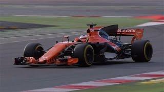 McLaren Honda MCL32 - F1 Pre-Season Testing 2017