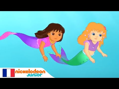Dora & Friends : Au cœur de la ville | Dora, la sirène | NICKELODEON JUNIOR