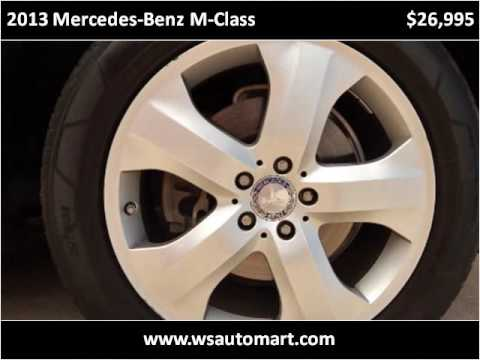 2013 Mercedes-Benz M-Class Used Cars St Augustine FL