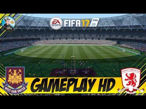 FIFA 17 West Ham United vs Middlesbrough - London Stadium