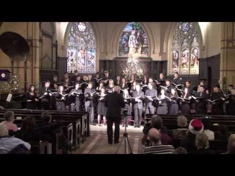Star Carol, by John Rutter: Cawthra Park Chamber Choir, Dec. 12, 2009