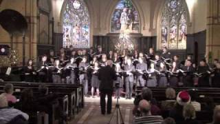 Star Carol, by John Rutter: Cawthra Park Chamber Choir, Dec. 12, 2009