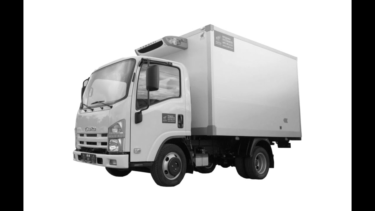 Isuzu NMR85H Рефрижераторный фургон +5С…-20С, фургон 14м3, 5 европаллет