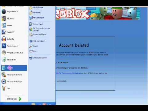 How To Get You're Account Deleted On Roblox by Tony Silva