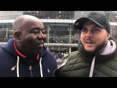Arsenal v Tottenham LIVE at The Emirates ft DT