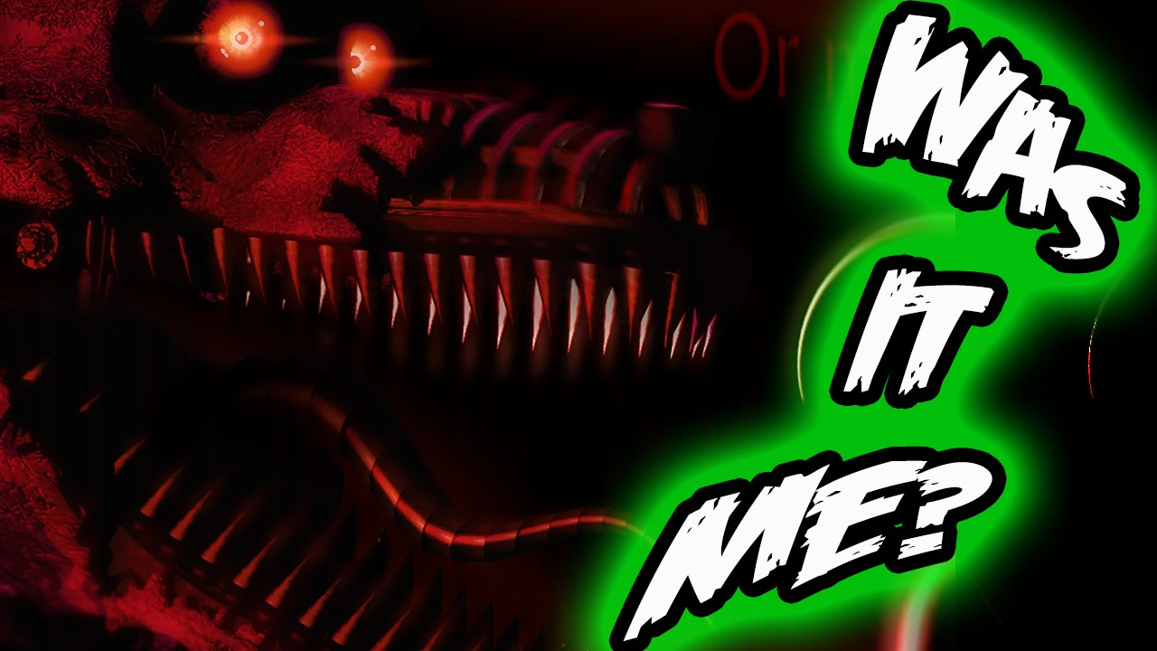FNAF 4 NIGHTMARE FOXY Did the BITE of 87?! || Five Nights at