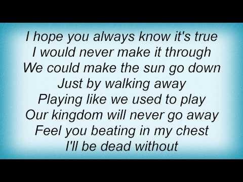 Dave Matthews Band - Sister Lyrics