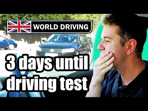 3 Days Until The Driving Test