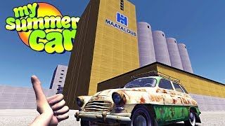 MY SUMMER SKYSCRAPERS! TRUMP COMES TO RURAL FINLAND! - My Summer Car Gameplay Highlights Ep 94