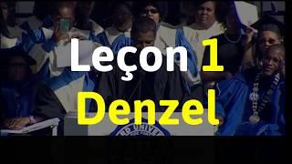 Leçon 1 - Denzel Washington I Destinées