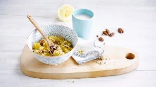 Alpro Recipe - Sunny Rice Pudding