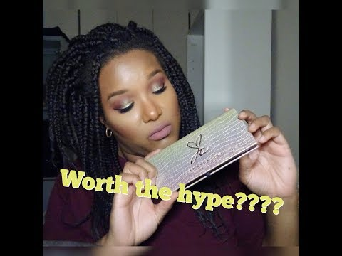 Worth the money? | Jackie Aina X Anastasia Beverly Hills Palette | Review & Demo thumbnail