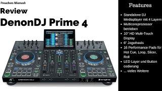 DenonDJ Prime 4 Review [Test Deutsch 2020 HD] Standalone DJ Player Controller